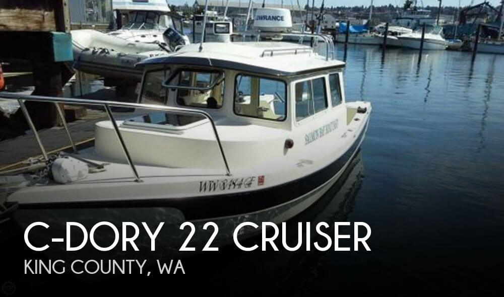 2006 C-Dory boat for sale, model of the boat is 22 Cruiser & Image # 1 of 40