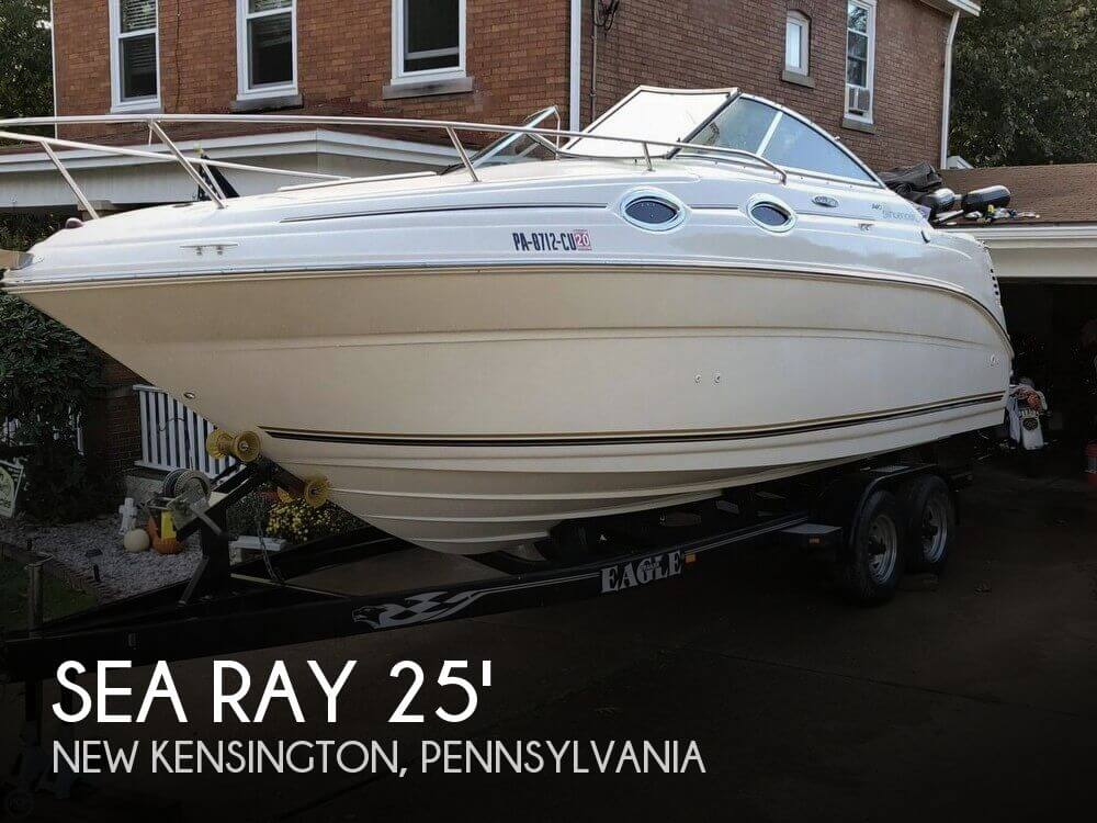 Used Boats For Sale in Pittsburgh, Pennsylvania by owner | 2004 Sea Ray 25