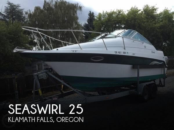 Used Boats For Sale in Medford, Oregon by owner | 2000 Seaswirl 25