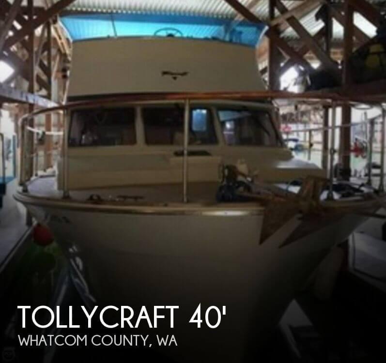 1977 Tollycraft 40 Tri Cabin - Photo #1