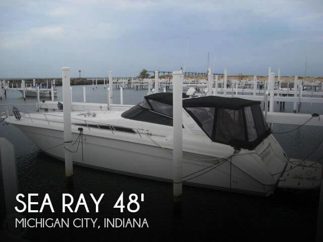 1991 Sea Ray 480 Sundancer - Photo #1