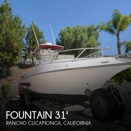 1988 Fountain 31 Sportfisher - Photo #1
