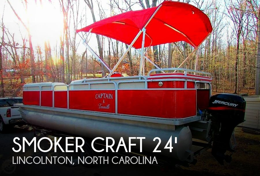 2001 Smoker Craft boat for sale, model of the boat is 824 Sunsport Cruise & Image # 1 of 41