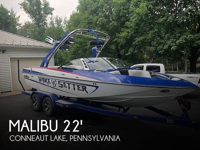 Used Boats For Sale in Youngstown, Ohio by owner | 2013 Malibu 21