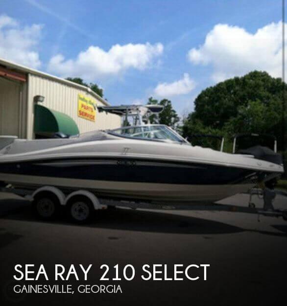 2008 Sea Ray 210 Select - Photo #1