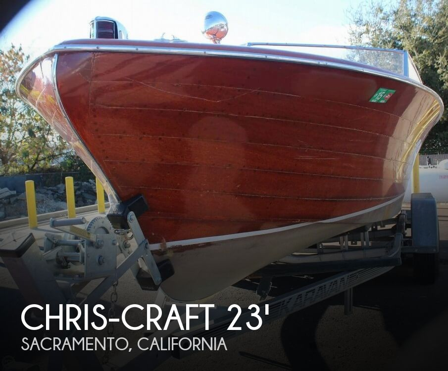 1956 Chris Craft boat for sale, model of the boat is 23 Continental & Image # 1 of 40