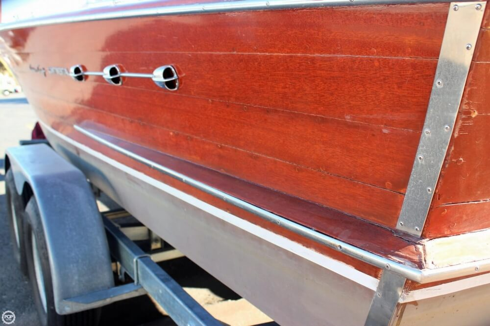 1956 Chris Craft boat for sale, model of the boat is 23 Continental & Image # 7 of 40