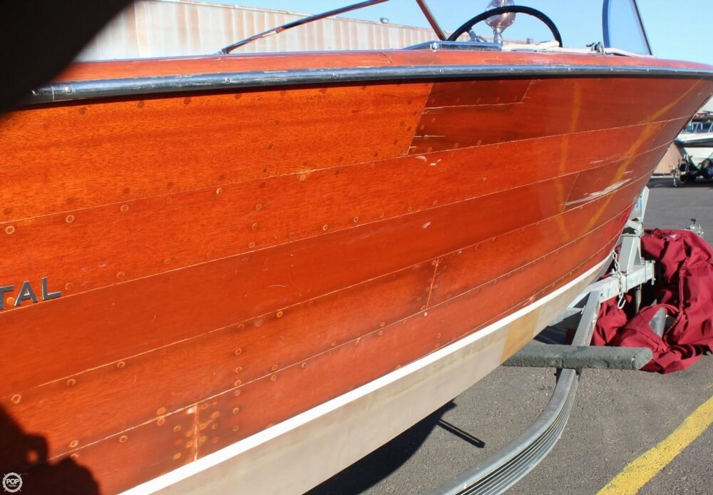 1956 Chris Craft boat for sale, model of the boat is 23 Continental & Image # 22 of 40