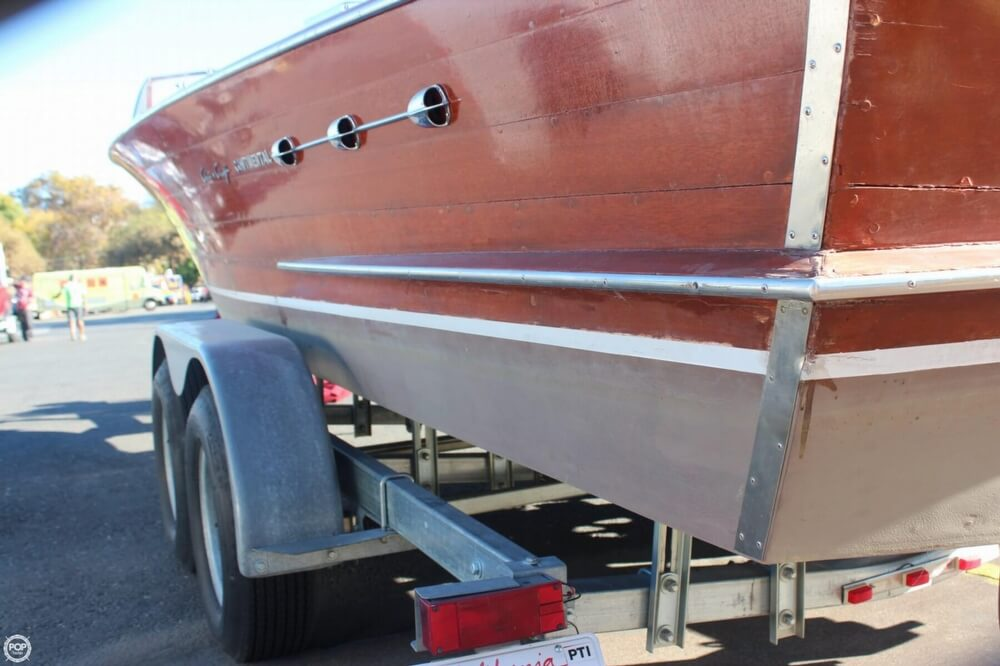 1956 Chris Craft boat for sale, model of the boat is 23 Continental & Image # 28 of 40