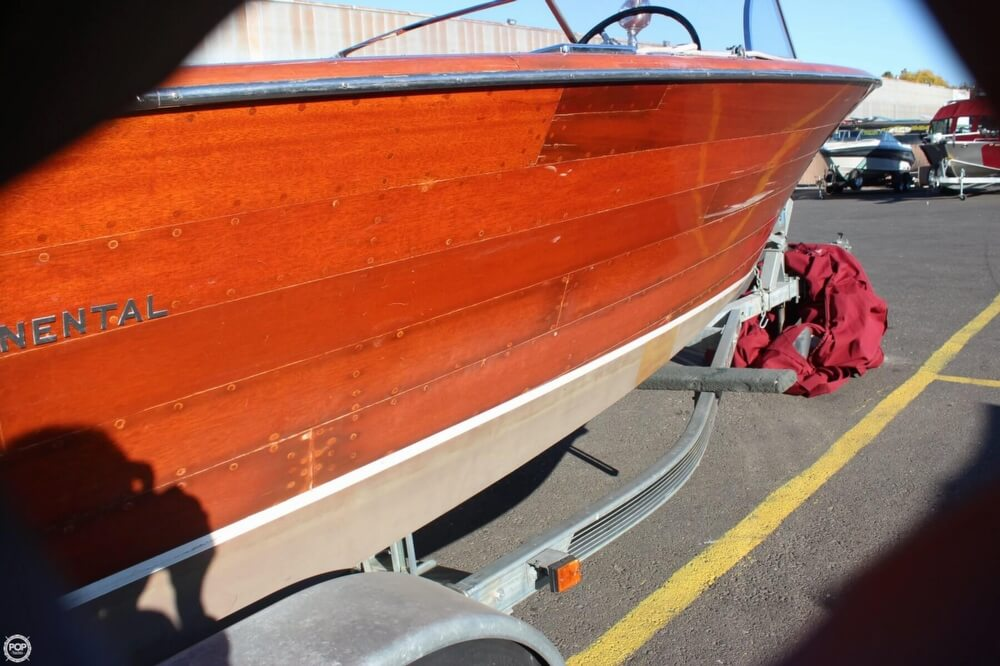 1956 Chris Craft boat for sale, model of the boat is 23 Continental & Image # 34 of 40