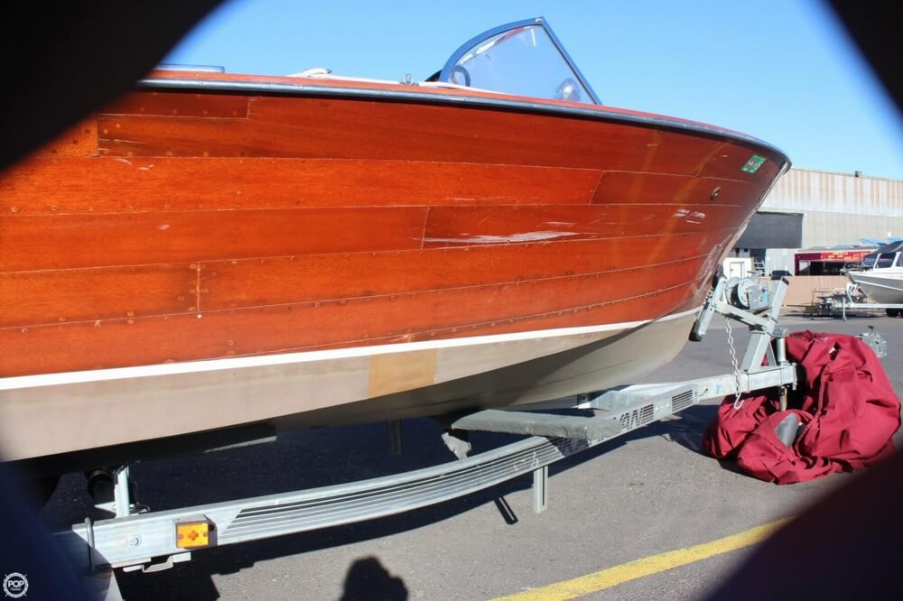 1956 Chris Craft boat for sale, model of the boat is 23 Continental & Image # 36 of 40
