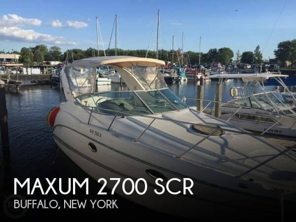 2001 Maxum 2700 SCR - Photo #1