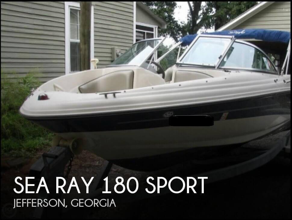 2004 Sea Ray 180 Sport - Photo #1