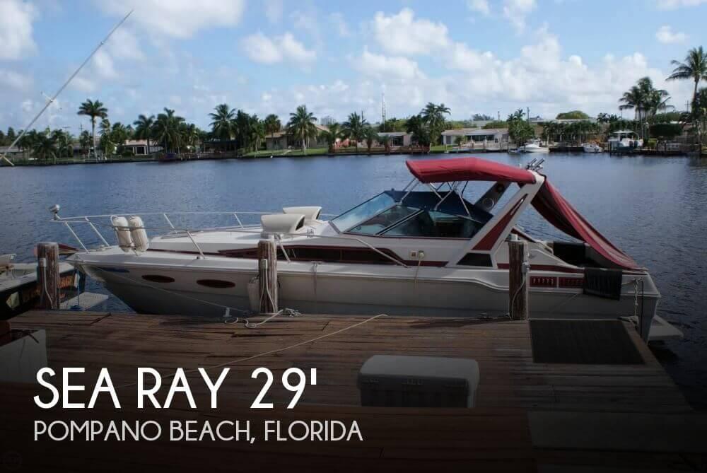 1988 Sea Ray 29 - Photo #1