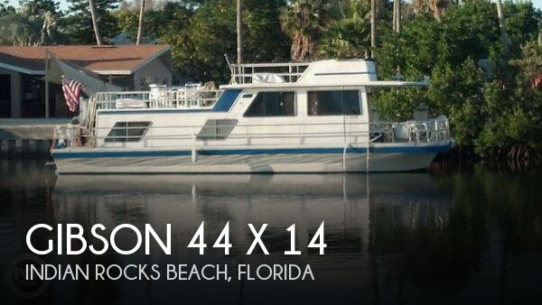 Used Houseboats For Sale in Florida by owner | 1984 Gibson 44