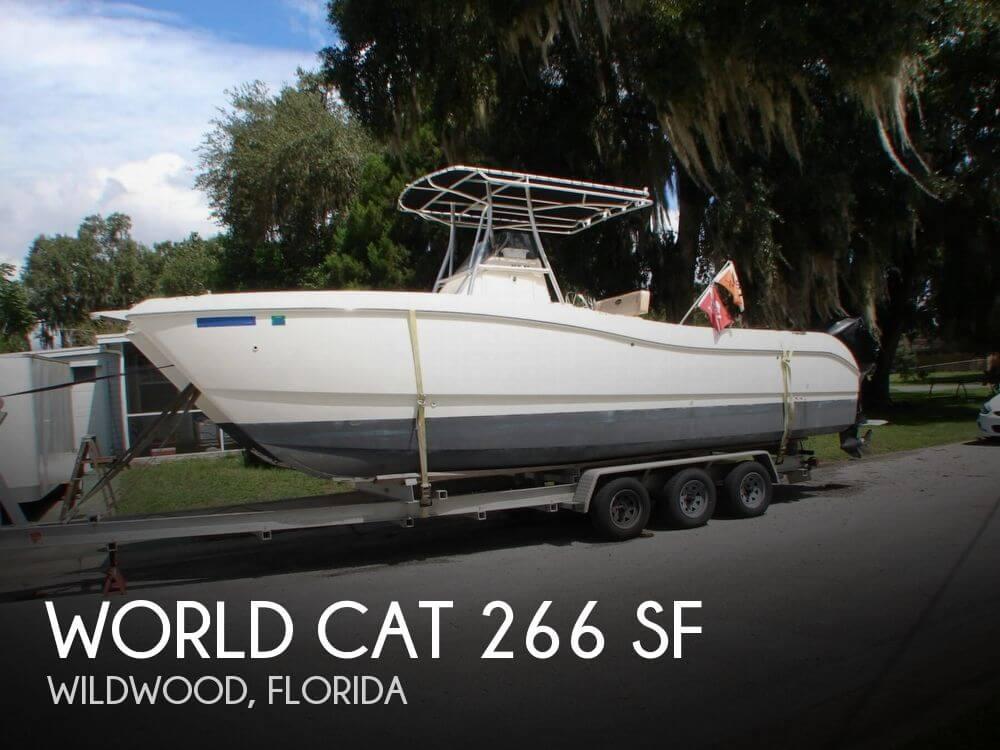 2000 World Cat 266 SF - Photo #1
