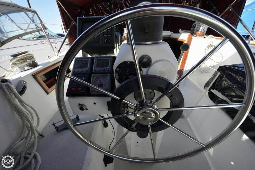 1975 Morgan boat for sale, model of the boat is 33 Out Island & Image # 4 of 40