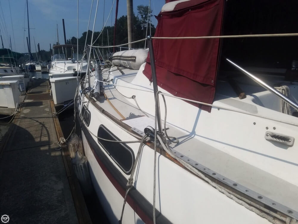 1975 Morgan boat for sale, model of the boat is 33 Out Island & Image # 8 of 40
