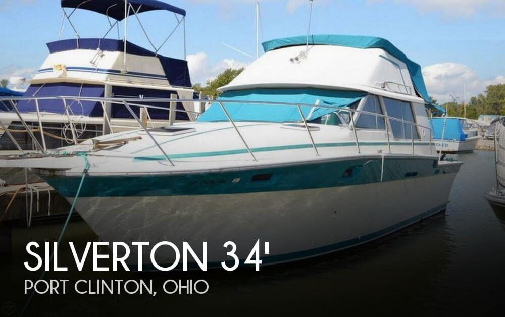 Used Fishing boats For Sale in Ohio by owner | 1986 Silverton 34 Convertible