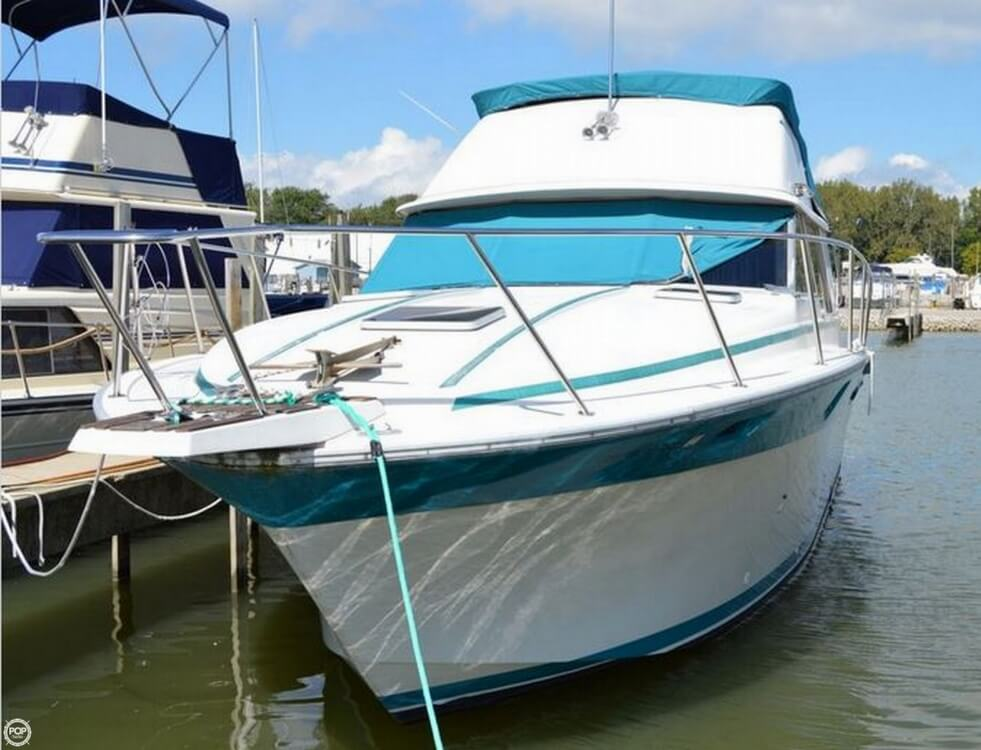 1986 silverton 34 convertible fishing boat for sale in for Fishing boats for sale in ohio