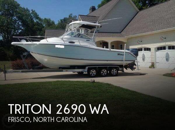 2003 Triton 2690 WA - Photo #1