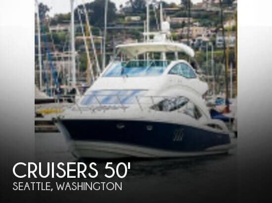 Used Boats For Sale in Bremerton, Washington by owner | 2006 Cruisers 50