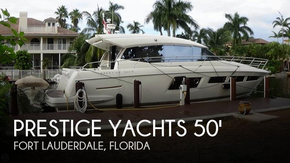 2012 PRESTIGE YACHTS 500S for sale