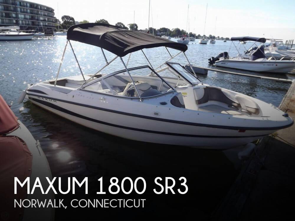2006 Maxum 1800 SR3 - Photo #1