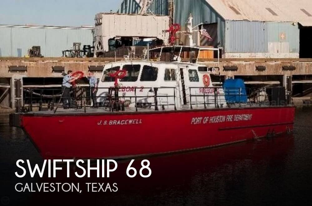 Used Boats For Sale in Beaumont, Texas by owner | 1983 Swiftship 68