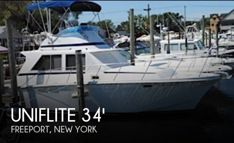 Used Uniflite Boats For Sale by owner | 1980 Uniflite 34 Sport Sedan