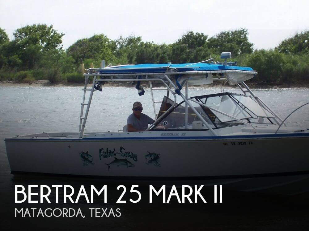 1968 BERTRAM 25 MARK II for sale