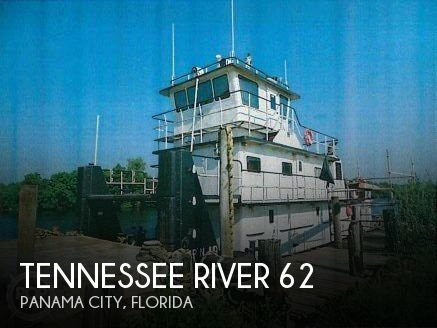 1982 tennessee river 62 power boat for sale in panama city fl for Used boat motors panama city fl