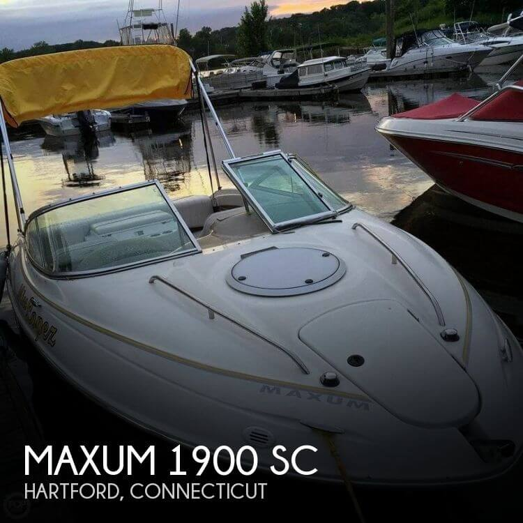 1999 Maxum 1900 SC - Photo #1