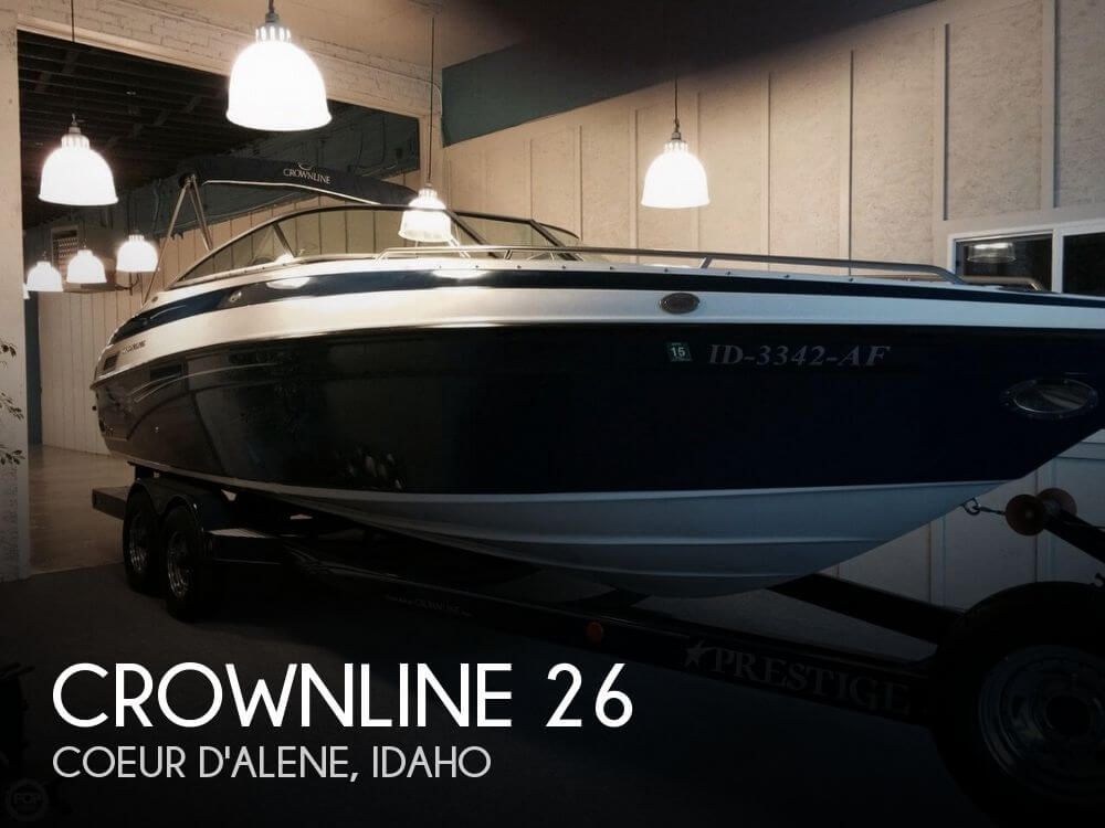 Used Boats For Sale in Spokane, Washington by owner | 2003 Crownline 26