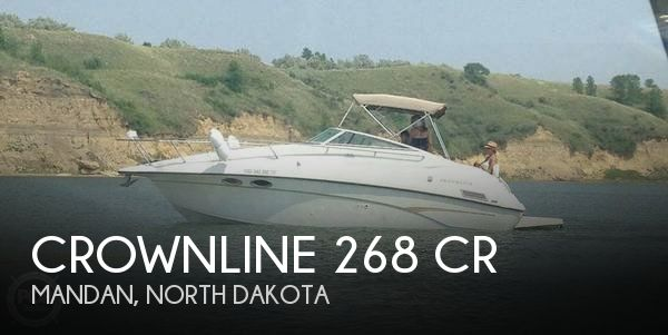 Used Boats For Sale in North Dakota by owner | 1999 Crownline 26