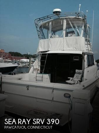 1984 Sea Ray boat for sale, model of the boat is SRV 390 & Image # 1 of 40