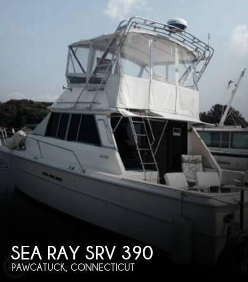 1984 Sea Ray SRV 390 - Photo #1