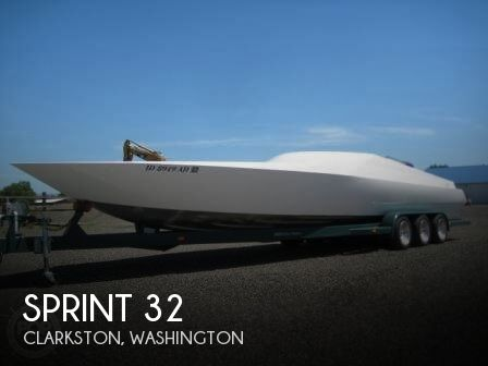 Used High Performance Boats For Sale in Washington by owner | 1996 Sprint 32