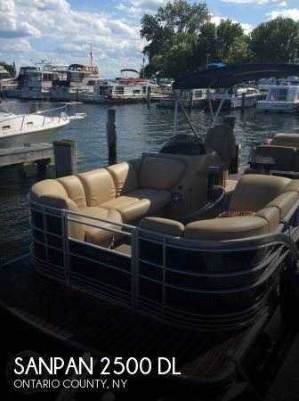 2013 SANPAN 2500 DL for sale