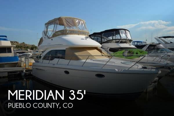 Sold meridian 341 sedan m yacht boat in pueblo co 090868 for Local motors pueblo co