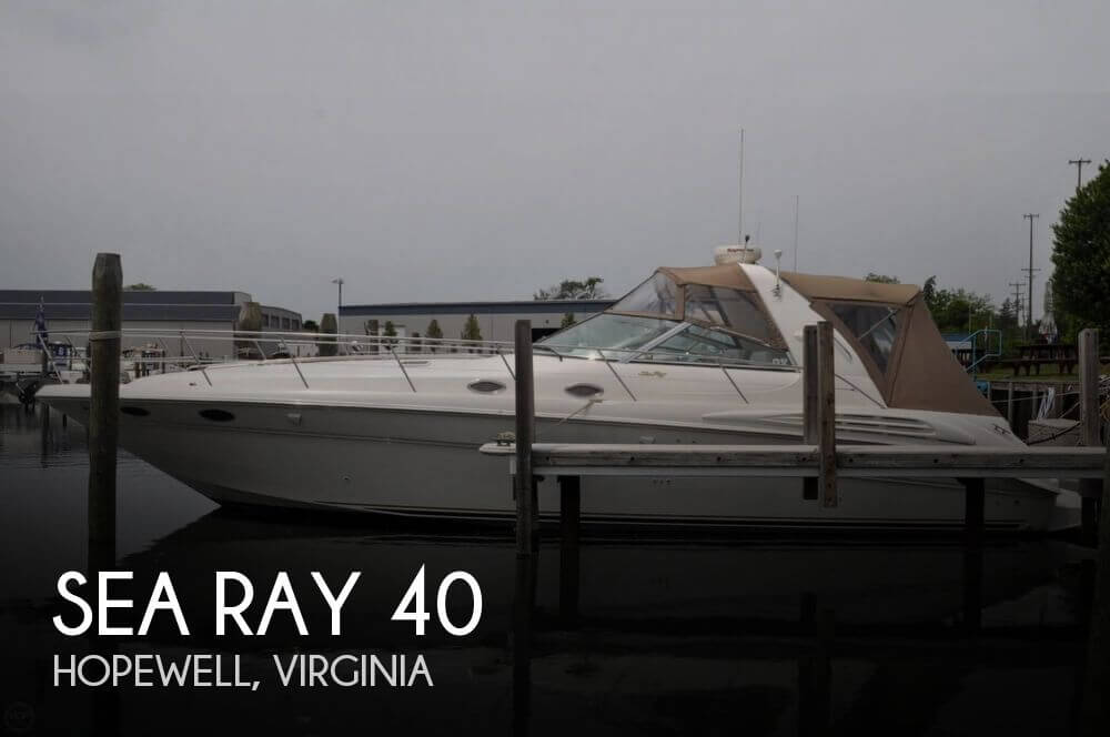 Used Boats For Sale in Richmond, Virginia by owner | 1997 Sea Ray 40