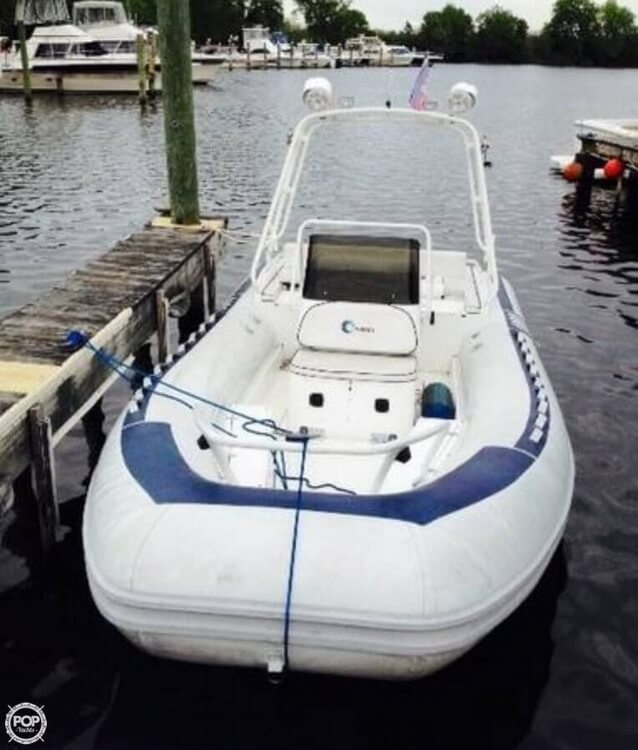 1997 Novurania boat for sale, model of the boat is 21 & Image # 4 of 16