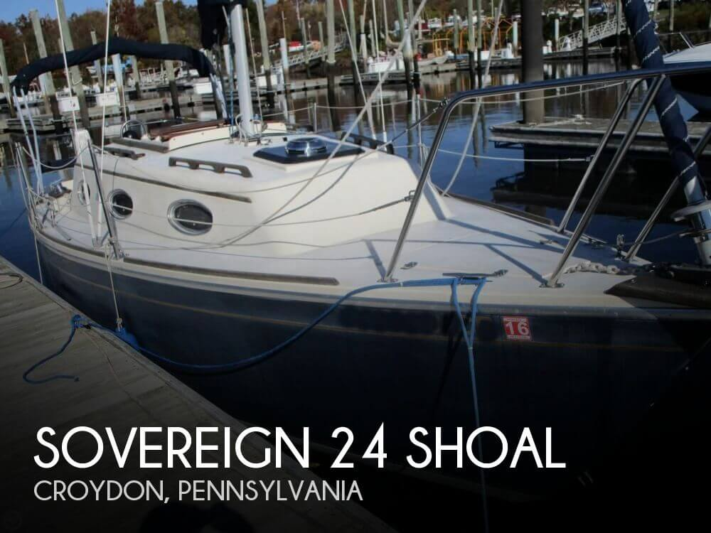1994 Sovereign 24 Shoal