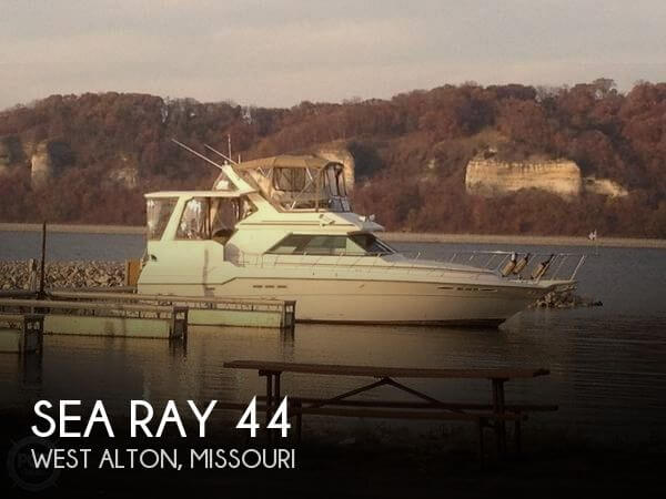 Used Boats For Sale in St. Louis, Missouri by owner   1988 Sea Ray 44