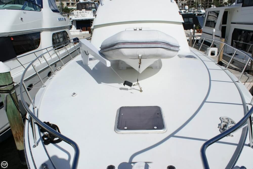 1990 Hatteras 58 Convertible - Photo #34