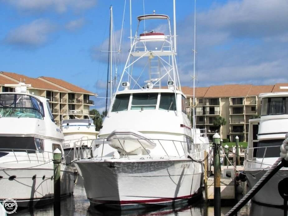 1990 Hatteras 58 Convertible - Photo #13