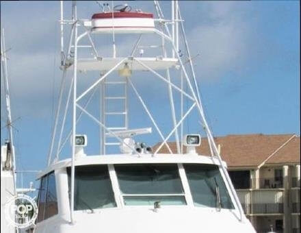 1990 Hatteras 58 Convertible - Photo #22