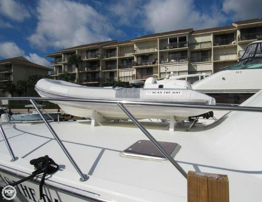 1990 Hatteras 58 Convertible - Photo #36