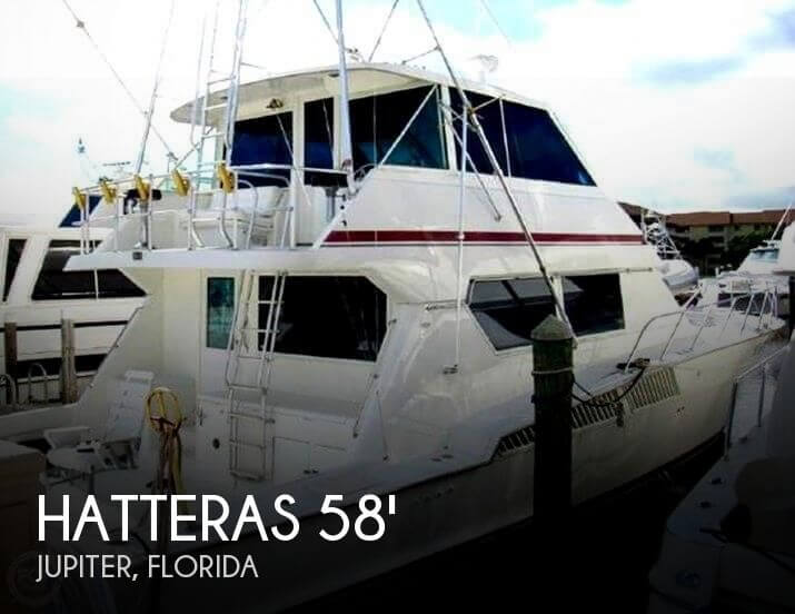 1990 Hatteras 58 Convertible - Photo #1