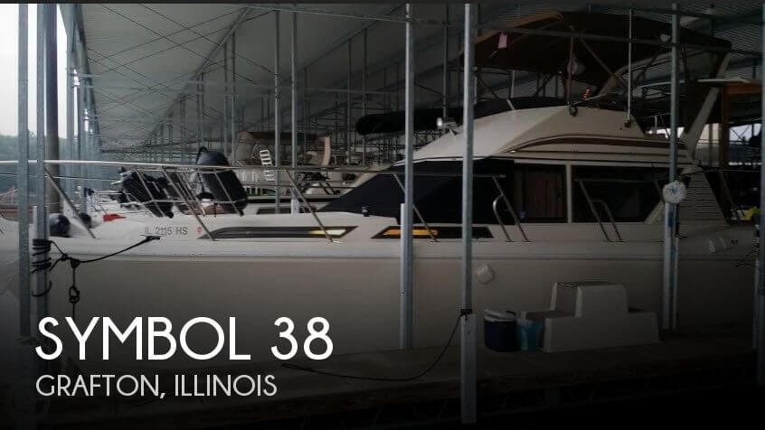 Used Boats For Sale in Springfield, Illinois by owner | 1988 Symbol 38